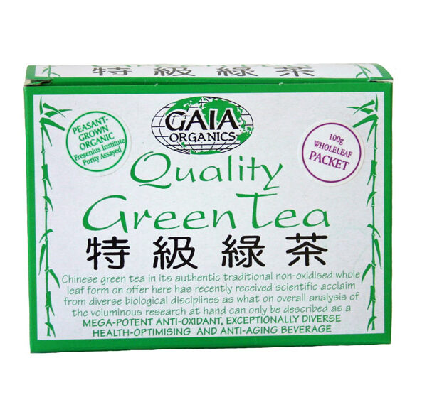 Gaia Green Tea looseleaf (100g)-0