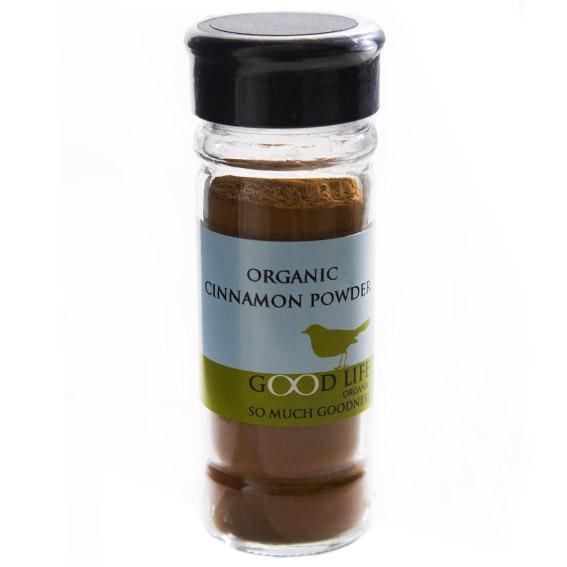 Good Life Organic Cinnamon (40g)-0