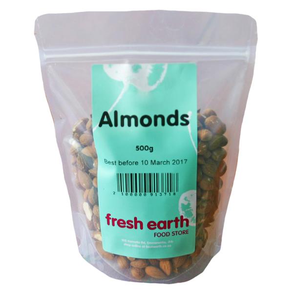 Fresh Earth Almonds (500g)