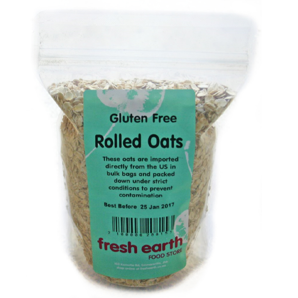 Fresh Earth Gluten Free Oats (400g)