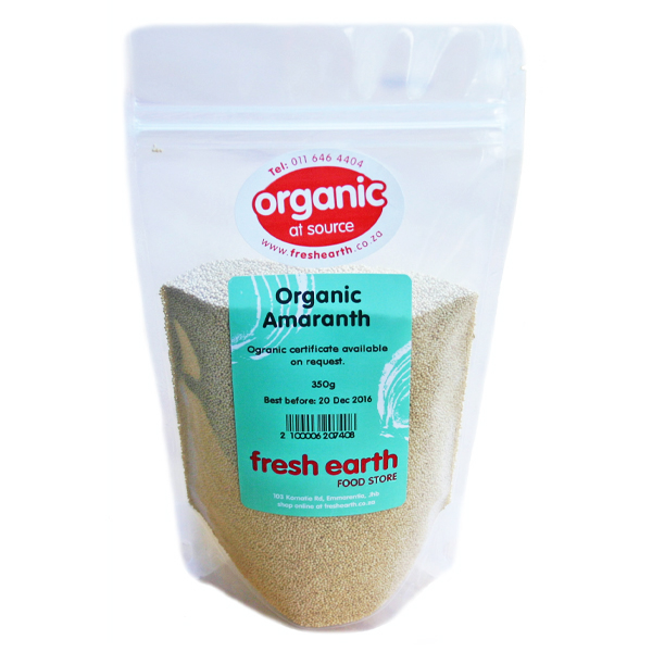 Fresh Earth Organic Amaranth (500g)