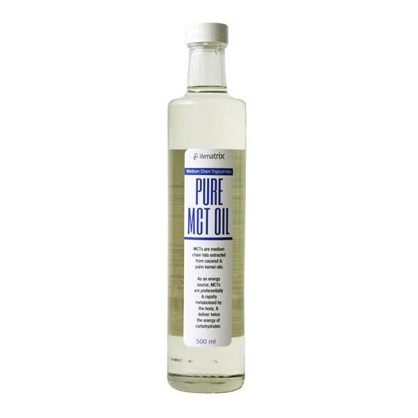 LifeMatrix Pure MCT Oil - 500ml