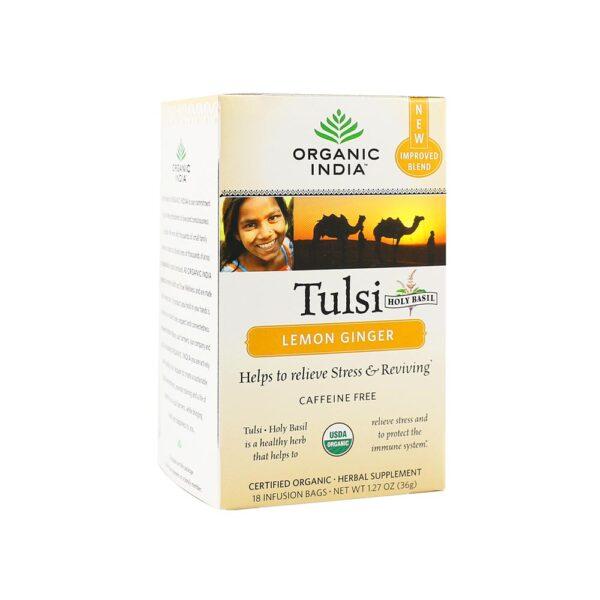 Organic India Tulsi Lemon Ginger (18)