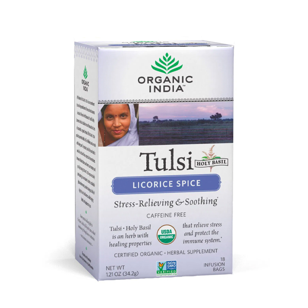 Organic India Tulsi Liquorice Spice (18)