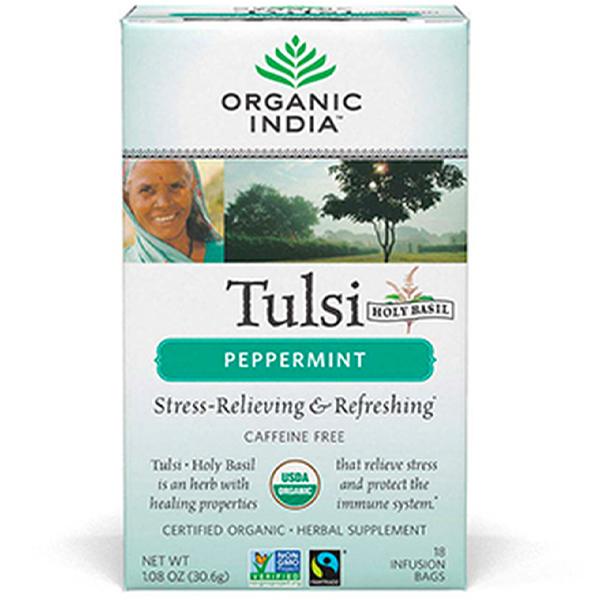 Organic India Tulsi Peppermint (18)