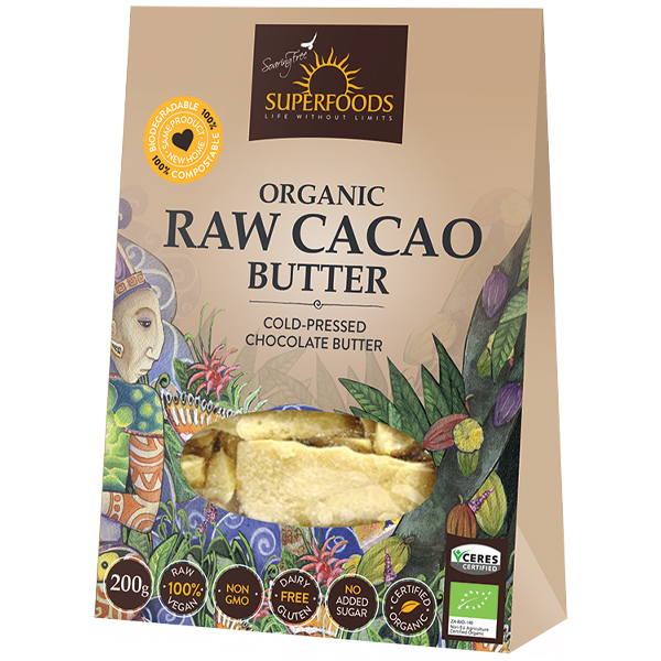 Soaring Free Cacao Butter (200g)