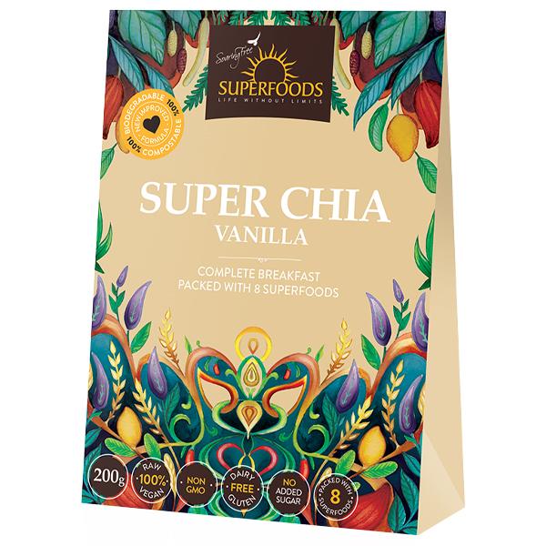 Soaring Free Organic Chia Meal (200g)