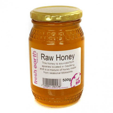 Fresh Earth Raw Honey (500g)-0