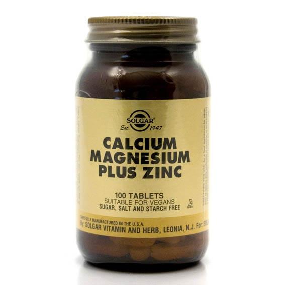 Solgar Calcium Magnesium Zinc (100`s)-0
