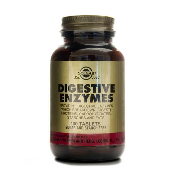 Solgar Digestive Enzymes (100`s)-0