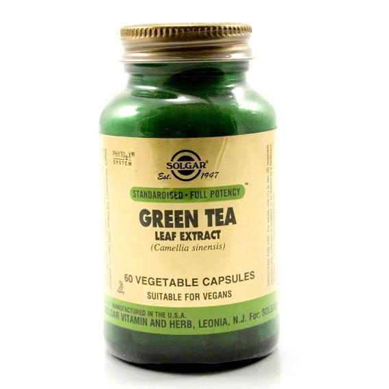 Solgar Green Tea Extract (60`s)-0