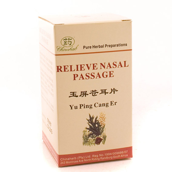 Chinaherb Relieve Nasal Passage (120's)-0