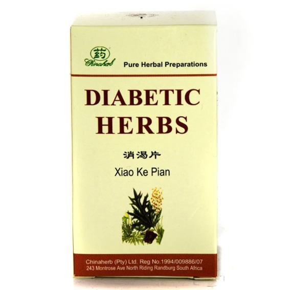 Chinaherb Diabetic Herbs (120's)-0