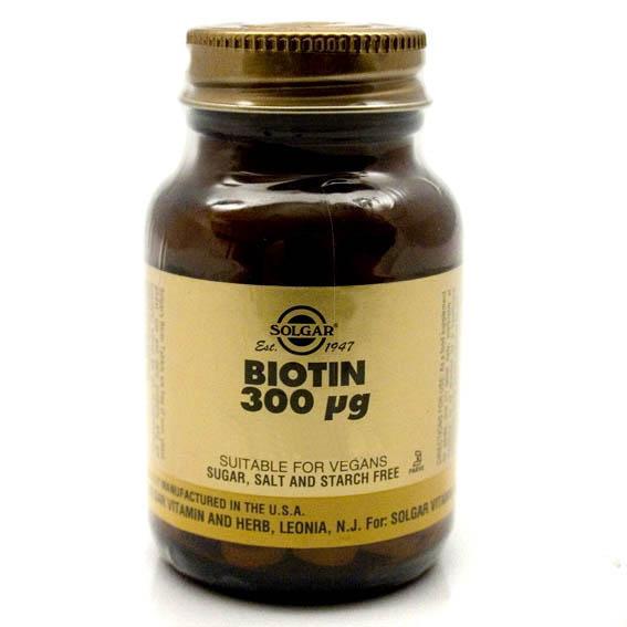 Solgar Biotin - 50's-0