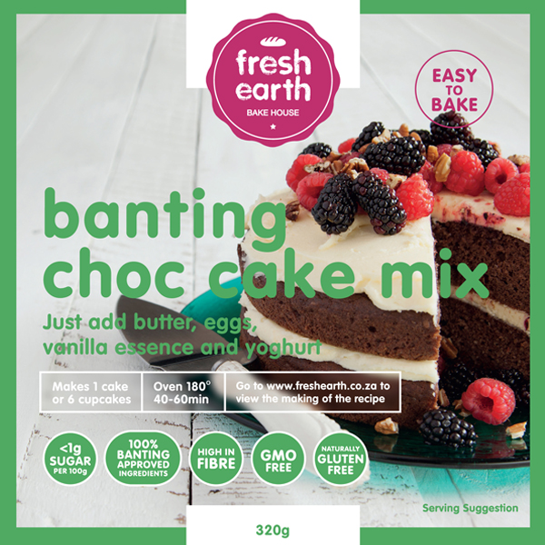 Banting Chocolate Cake Mix - 230g