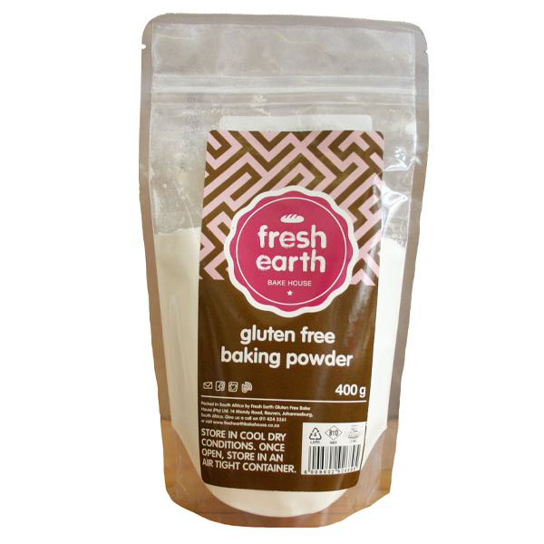 Fresh Earth Baking Powder 400g
