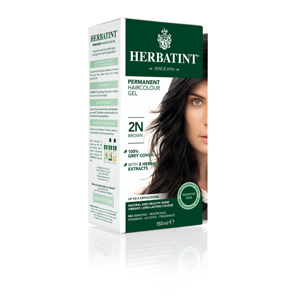 Herbatint Natural Brown - 2N (130ml)