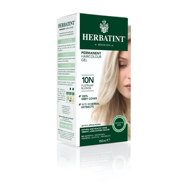 Herbatint Natural Platinum Blonde - 10N (130ml)