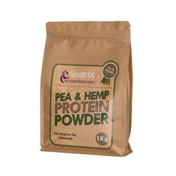 Lifematrix Pea & Hemp Protein powder (400g)