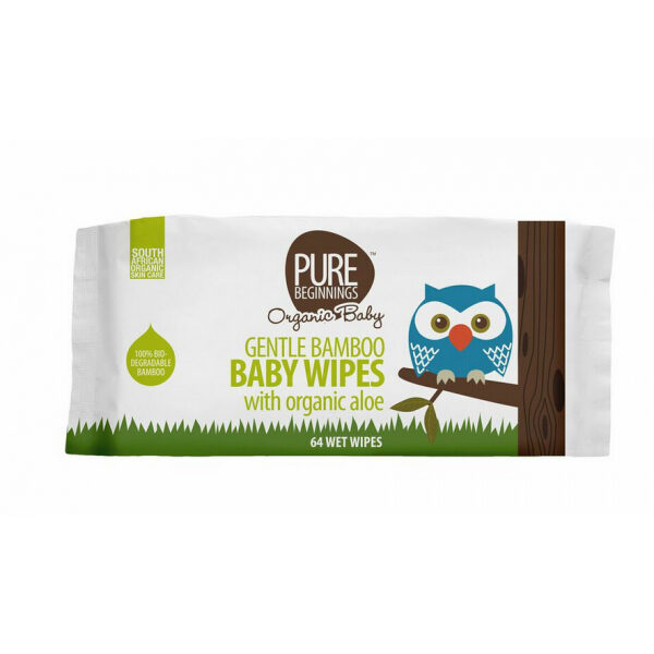 Pure Beginnings Wet Wipes (50s)
