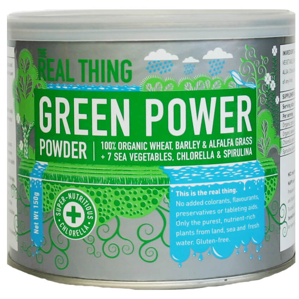 Real Thing Green Power Powder (150g)