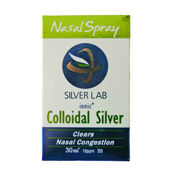 Silver Lab Ionic Colloidal Nasal Spray - 30ml