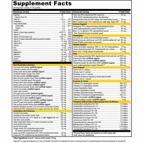 Vibrant Health Green Vibrance (345g)-7173