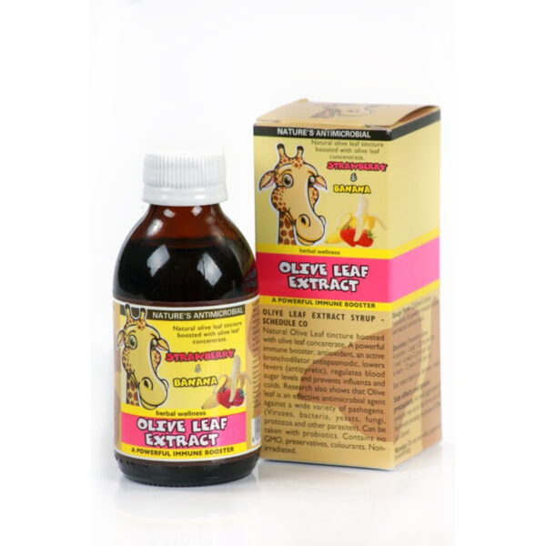 Herbal Wellness Olive Leaf Syrup (150ml)-0
