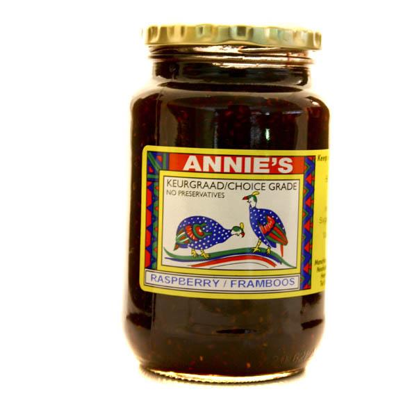 Annies Raspberry Jam Preservative Free (520g)-0