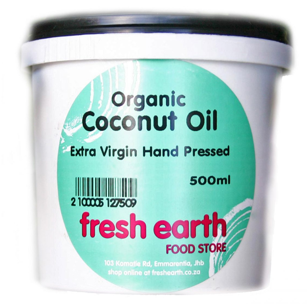 Fresh Earth Organic Coconut Oil (500ml)