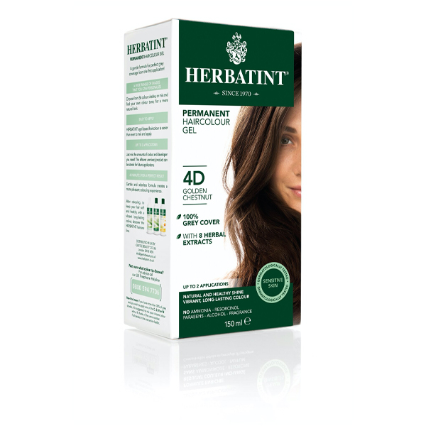 Herbatint Golden Chestnut- 4D (130ml)