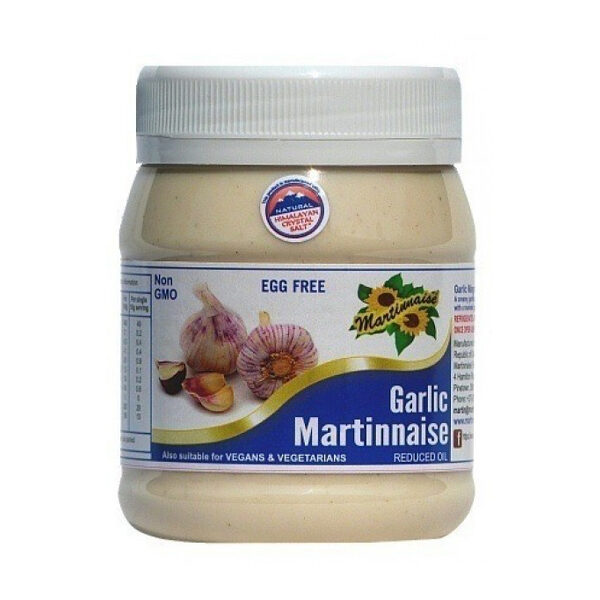 Martinnaise Garlic Vegan Mayonaise (375ml)