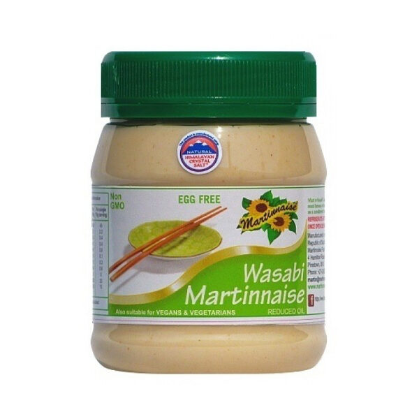 Martinnaise Wasabi Vegan Mayonnaise (375ml)