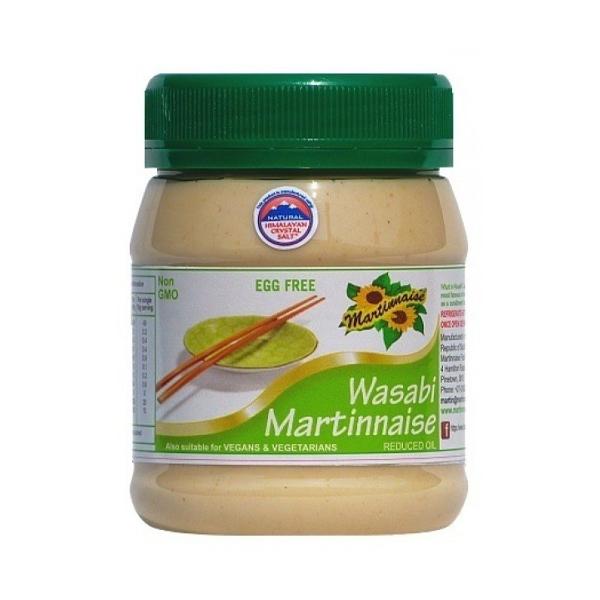 Martinnaise Wasabi Vegan Mayonnaise (375ml)