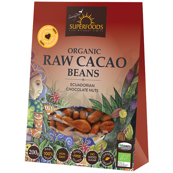 Soaring Free Cacao Beans (200g)