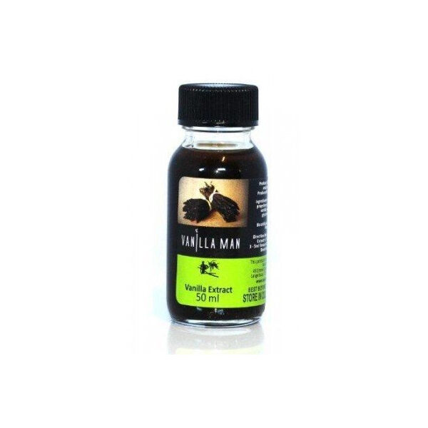 Vanilla Man Vanilla Alcohol Free Extract (50ml)