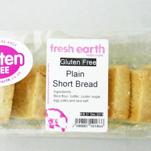 Fresh Earth Gluten Free Shortbread Plain - 7's-0