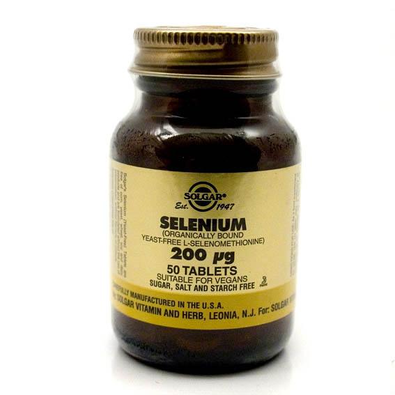 Solgar Selenium 200 (50`s)-0