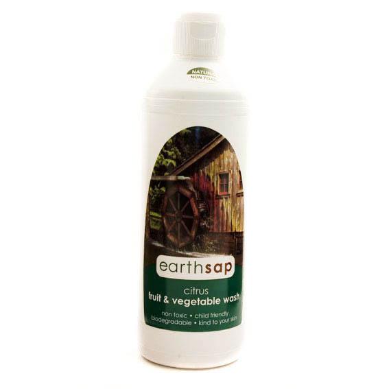 Earth Sap Fruit Veggie Wash (500ml)-0