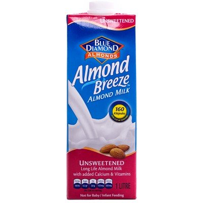 Almond Breeze Unsweetened Almond Milk - 1lt-0