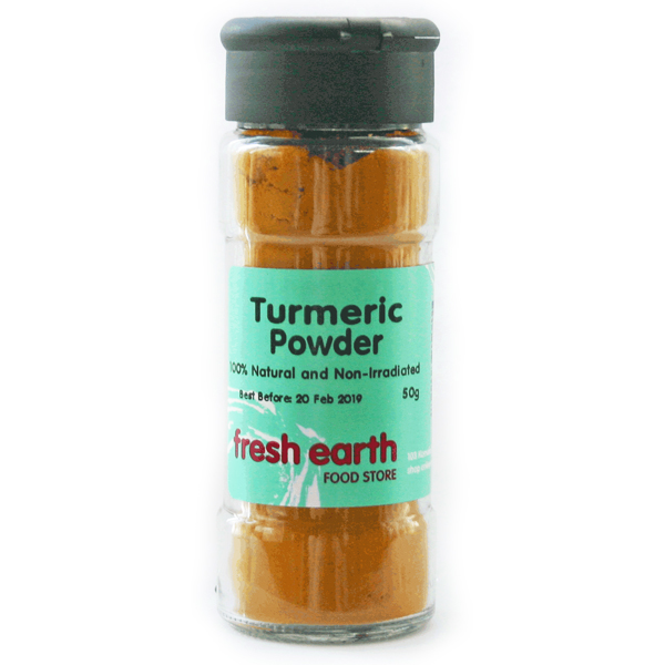 Fresh Earth Turmeric Powder - 50g