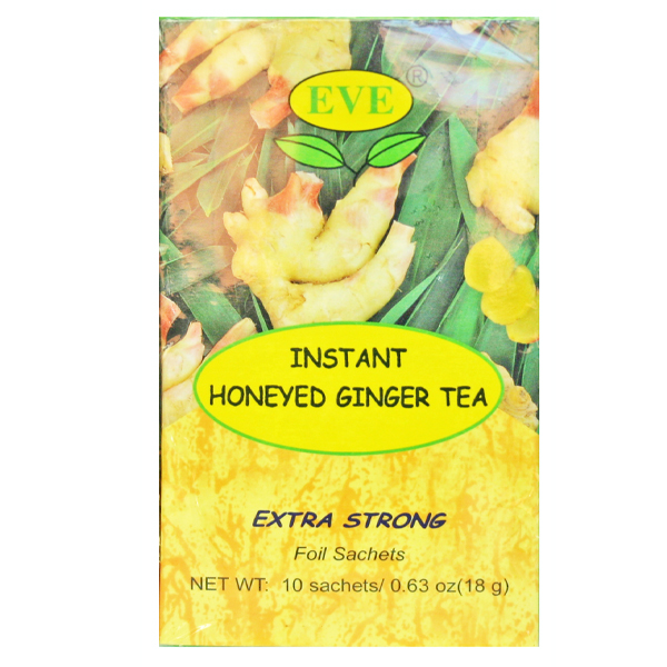 Eve Instant Honeyed Ginger Tea - 10's