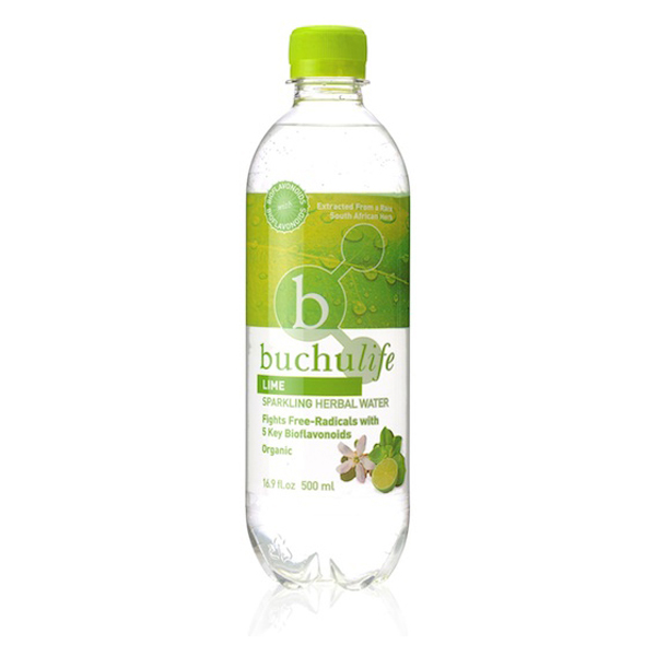 Buchulife Lime Sparkling Water - 500ml
