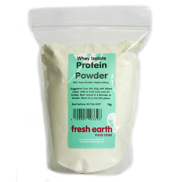 Fresh Earth Whey Isolate Protein Powder - 1kg