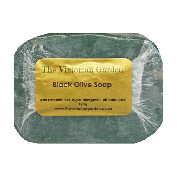 The Victorian Garden Black Olive Soap - 120g