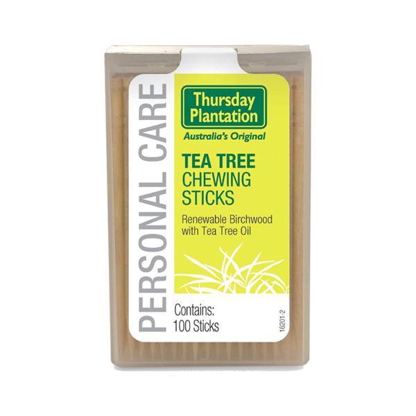 Thursday Plantation Tea Tree Chewing Sticks - 100s
