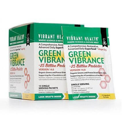 Vibrant Health Green Vibrance Sachets - 15's-0