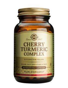 Solgar Cherry Turmeric Complex - 60's-0