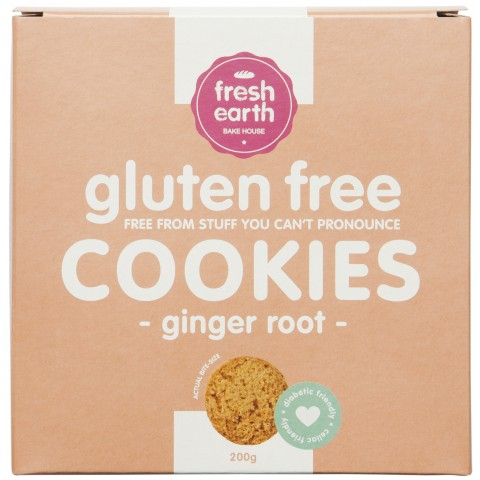 Sugar Free Ginger Root Cookies