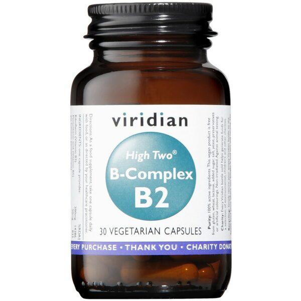 Viridian High 2 Vit B Complex - 30's-0